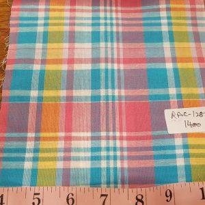 Madras Fabric - Plaid Fabric