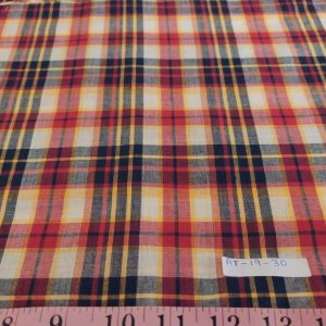 Madras Fabric - Madras Plaid - Plaid Fabric