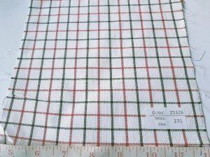 Tattersall Fabric, or tattersall plaid fabric