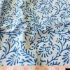 Vegetable dyed - Natural dyed & printed organic cotton fabric