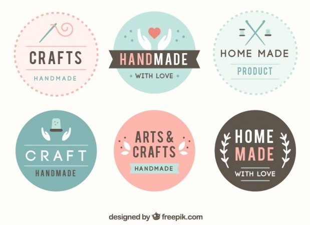Handmade crafts, handmade clothing and gifts, such as on etsy, shopify and folksy