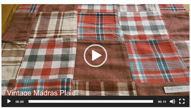 Patchwork Plaid - Patchwork Madras