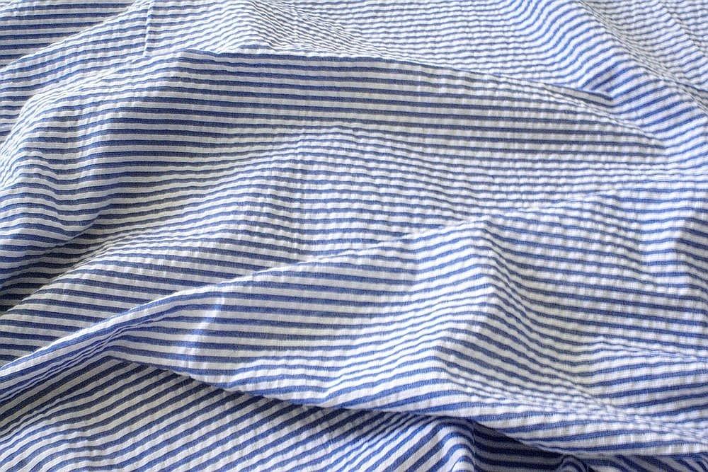 Seersucker Stripe Fabric - seersucker for ties, bowties, men's suits, seersucker shirts, seersucker dresses and children's clothing.