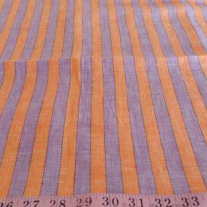 Linen Fabric - Linen Stripe Fabric