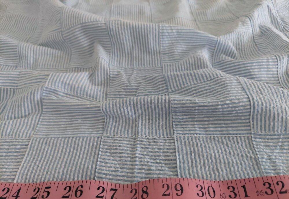 Seersucker Patchwork - Seersucker Stripe Fabric