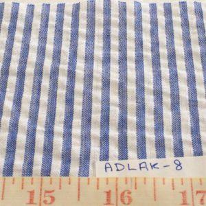 SEERSUCKER Fabric - Preppy Seersucker