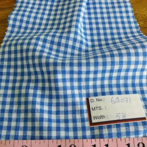 Gingham Fabric or gingham check fabric for classic children's clothing, gingham shirts, dresses, skirts, boys clothing and menswear.