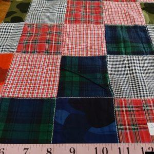 Patchwork Fabric / Patchwork Print & Plaid Fabric