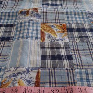 Patchwork Madras & Print Fabric