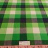 Tattersall Buffalo Plaid Fabric made of cotton, woven in a plain weave for preppy clothing, preppy sewing and crafts and perfect for handmade things.