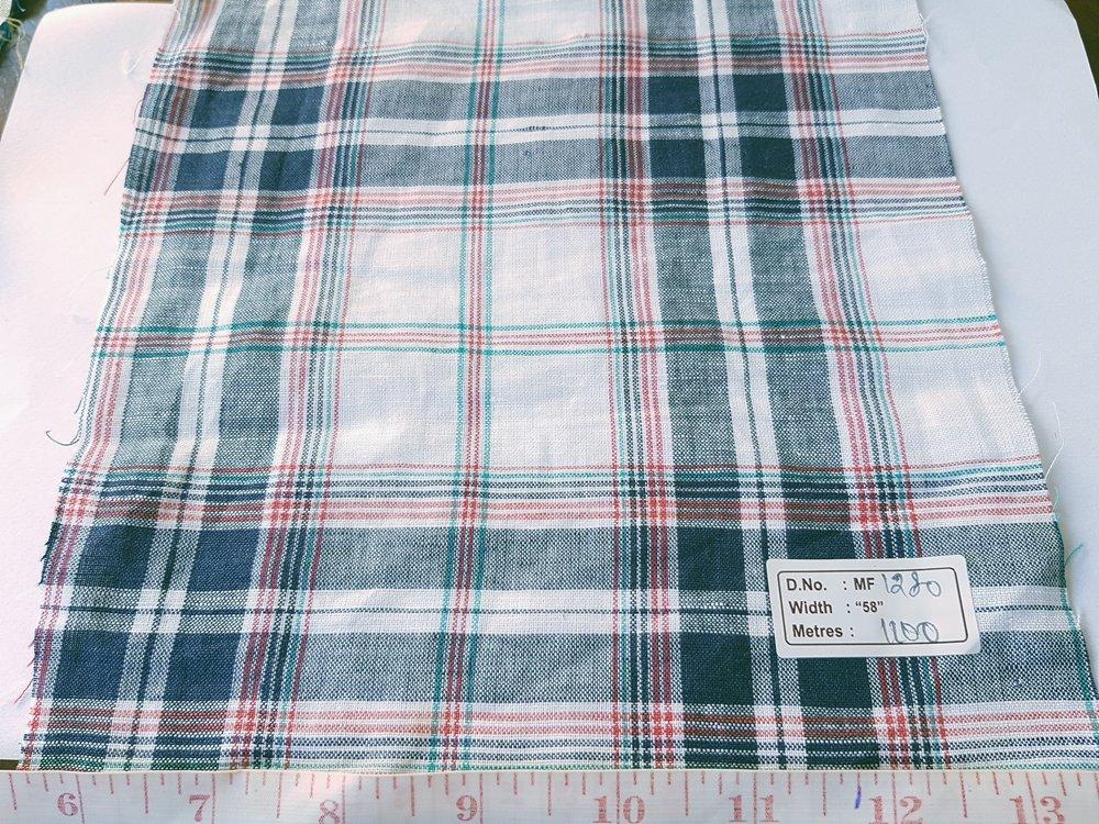 Linen Fabric - linen stripes, linen plaid or checks & linen solids, for linen shirts, classic children's clothing and linen dresses.